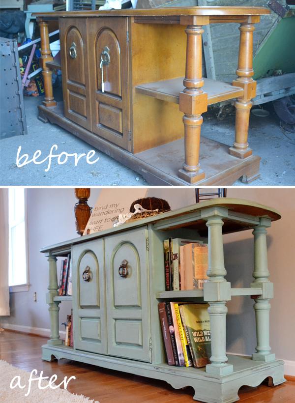 DIY Furniture Paint Refurbish Tutorial