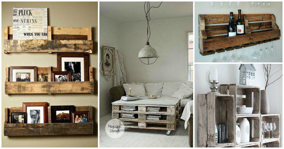 Creative DIY Storage Ideas For Pallets | Diy Smartly