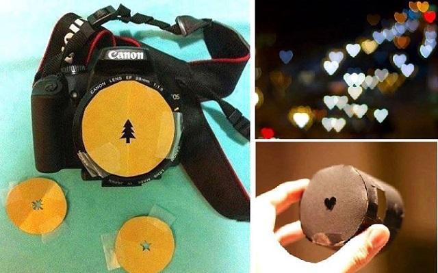 DIY Heart Bokeh Lens Filter | Diy Smartly