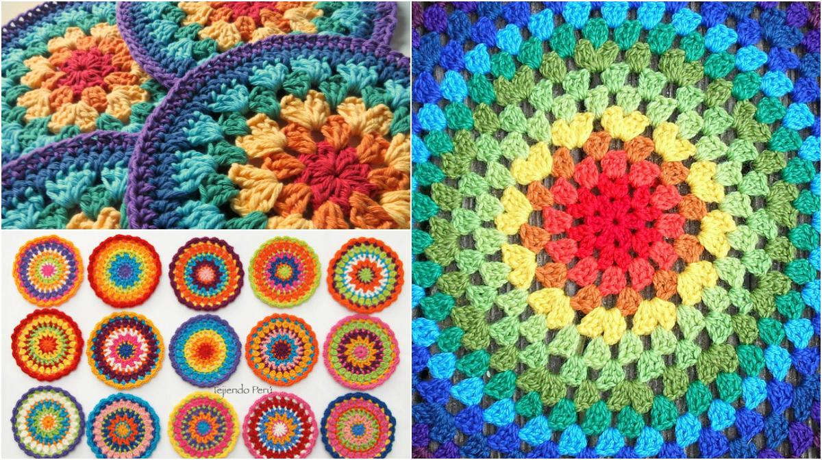Easy Gorgeous Crochet Mandala Free Patterns Video Tutorial Diy