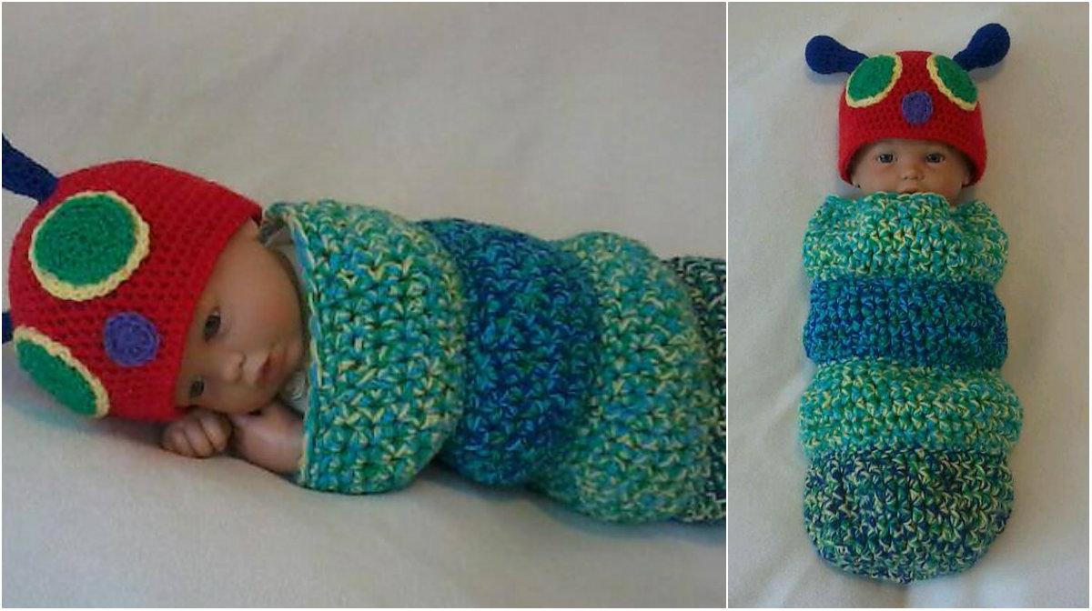 Snug as a bug baby caterpillar cocoon | Diy Smartly