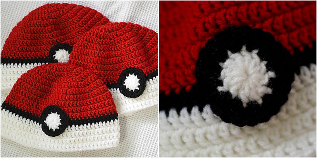 Pokeball Hat Free Pattern Diy Smartly