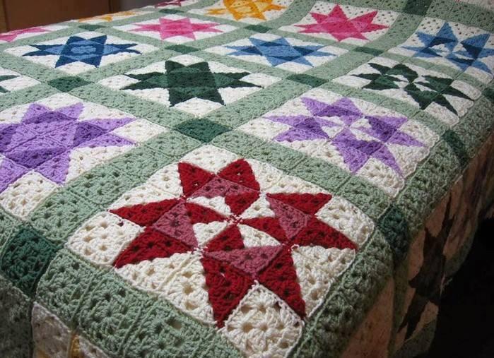 Easy] Crochet Quilt Afghan Pattern | Diy Smartly