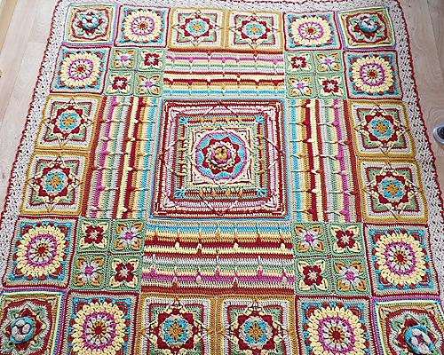 Amazing Demelza Blanket Free Pattern Diy Smartly
