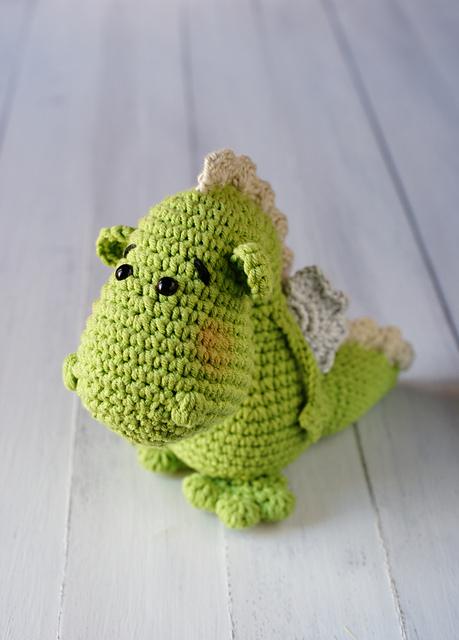 Easy Little Crochet Dragon Inspired By Legend Of Sant Jordi Diy