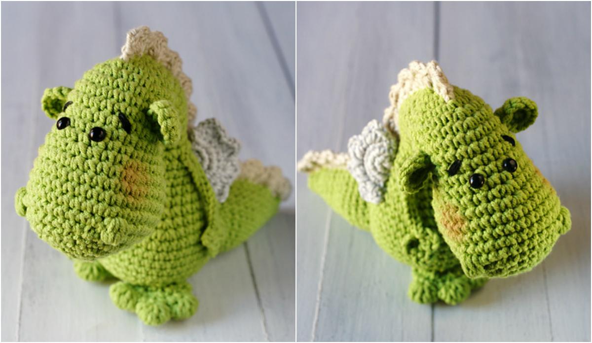 Amigurumi Cute Little Dragons Free Crochet Pattern - Amigurumi ...   696x1200