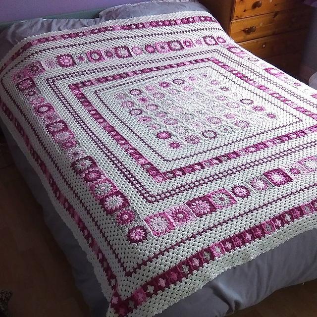 Easy] Wonderful Grace Blanket - Free pattern + Instructions   Diy ...