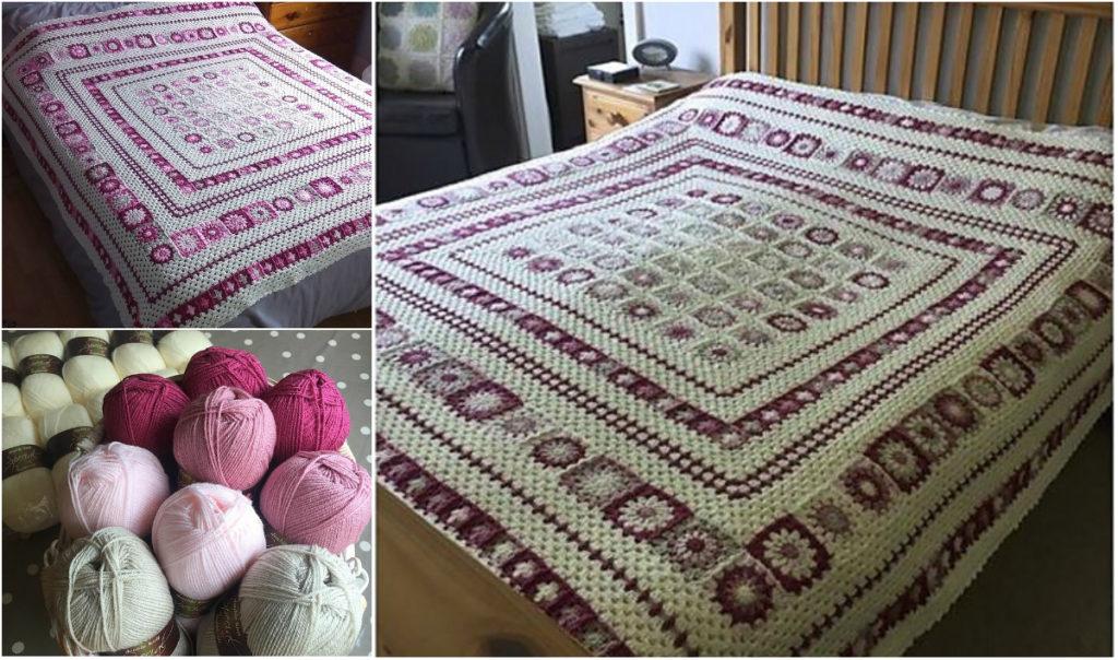 Easy Wonderful Grace Blanket Free Pattern Instructions Diy