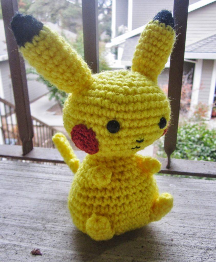 Pikachu And Pokeball Pod Free Pattern Free Bonus Diy Smartly