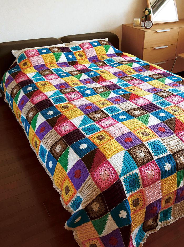 crochet bedspread patterns instructions