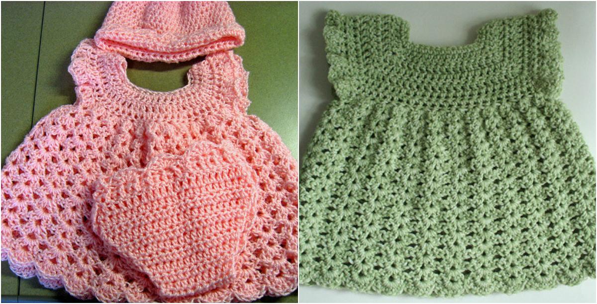 Free Crochet Pattern Baby Girl Sleeper Set Diy Smartly