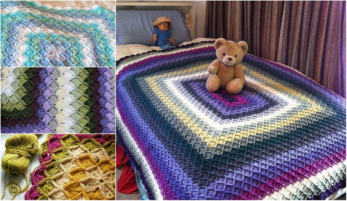 Free Pattern + Video Tutorial] Stunning Bavarian Crochet Afghan ...