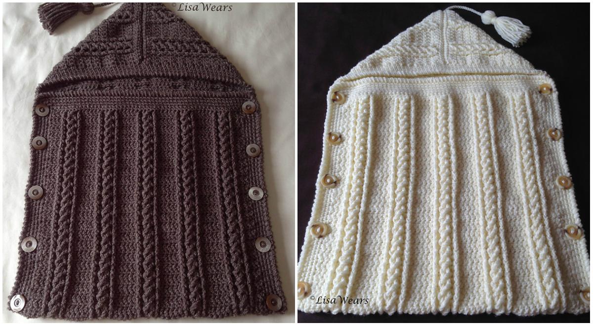 Free Pattern Crochet Cosy Toes Sleep Sack Diy Smartly