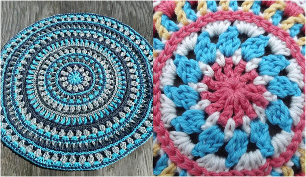 Crochet Mandala Style Placemats Free Pattern Diy Smartly