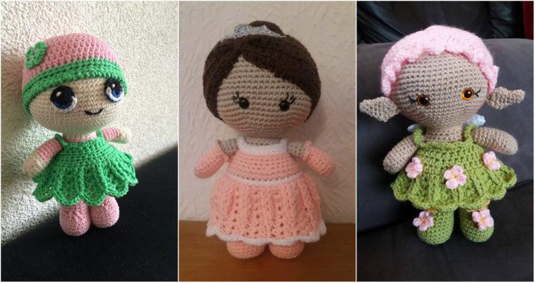 Lady Amigurumi Doll Free Pattern | 402x758