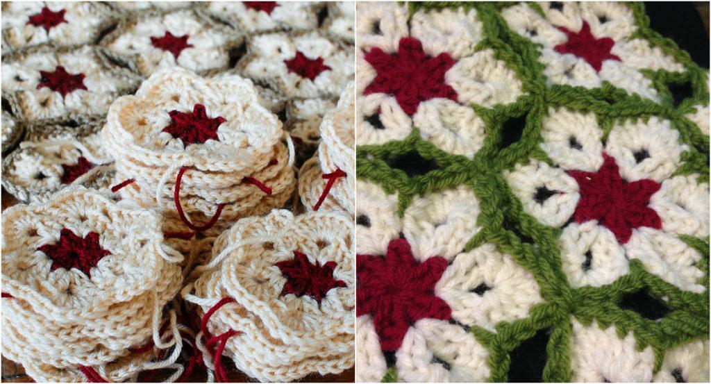 African Flower Crochet Afghan Free Pattern Diy Smartly