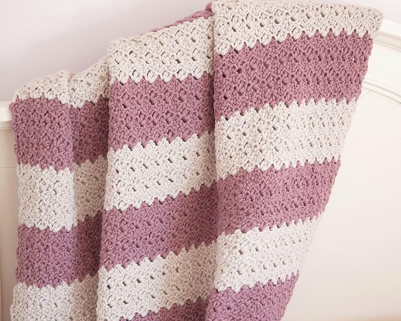 Free Pattern Chunky Crochet Throw Diy Smartly