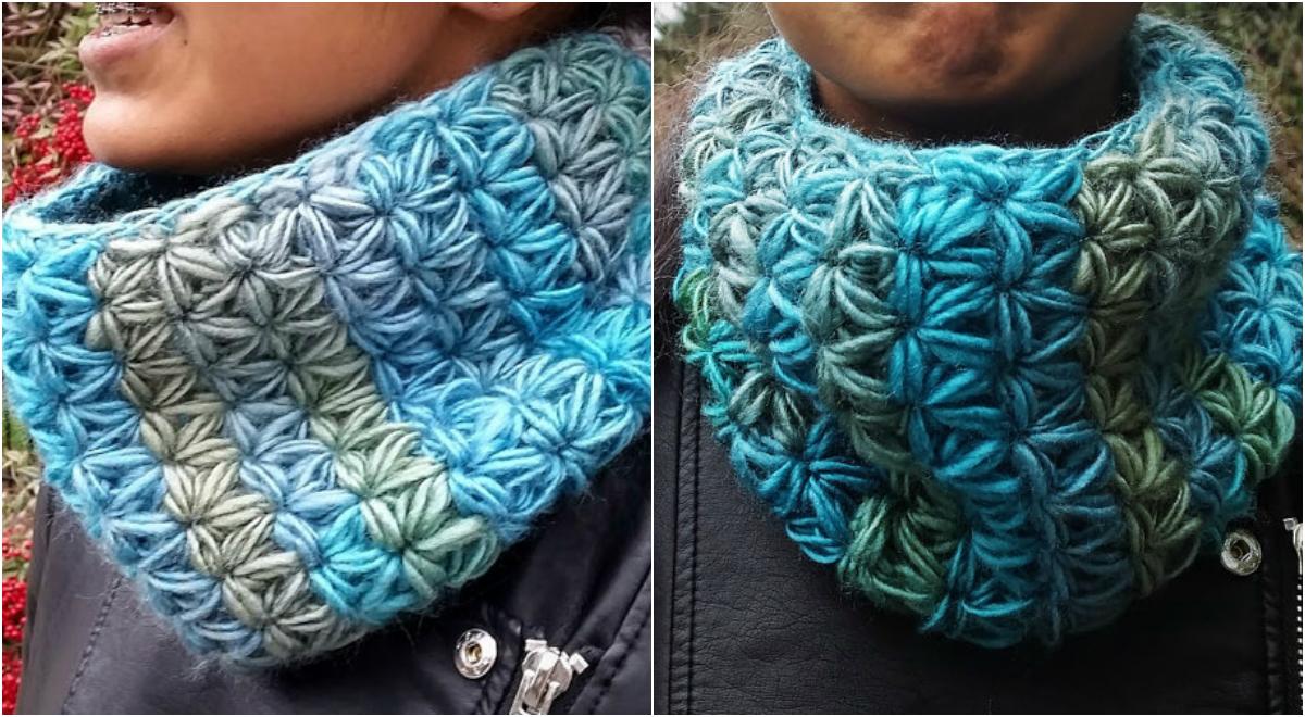 Stunning Crochet Scarf Witch Jasmine Stitch Pdf Pattern