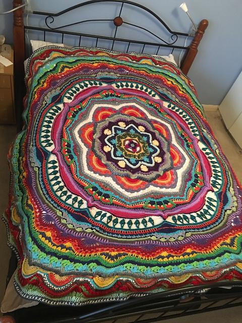 Stunning Mandala Madness Crochet Pattern Diy Smartly