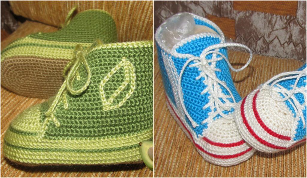 Free Pattern Crochet Baby Sneakers Diy Smartly