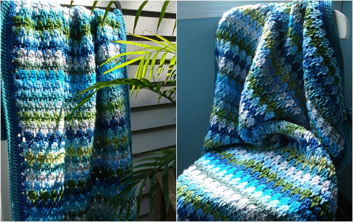 Larksfoot Crochet Pattern Stitch - Baby Afghan Diy Smartly
