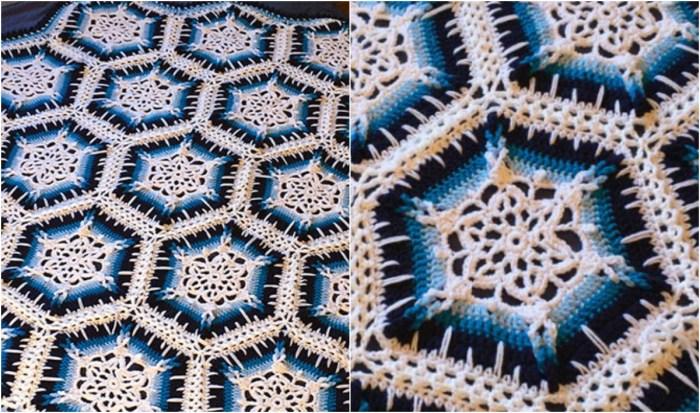 Snowflake Crochet Afghan Free Pattern Video Tutorial Diy Smartly