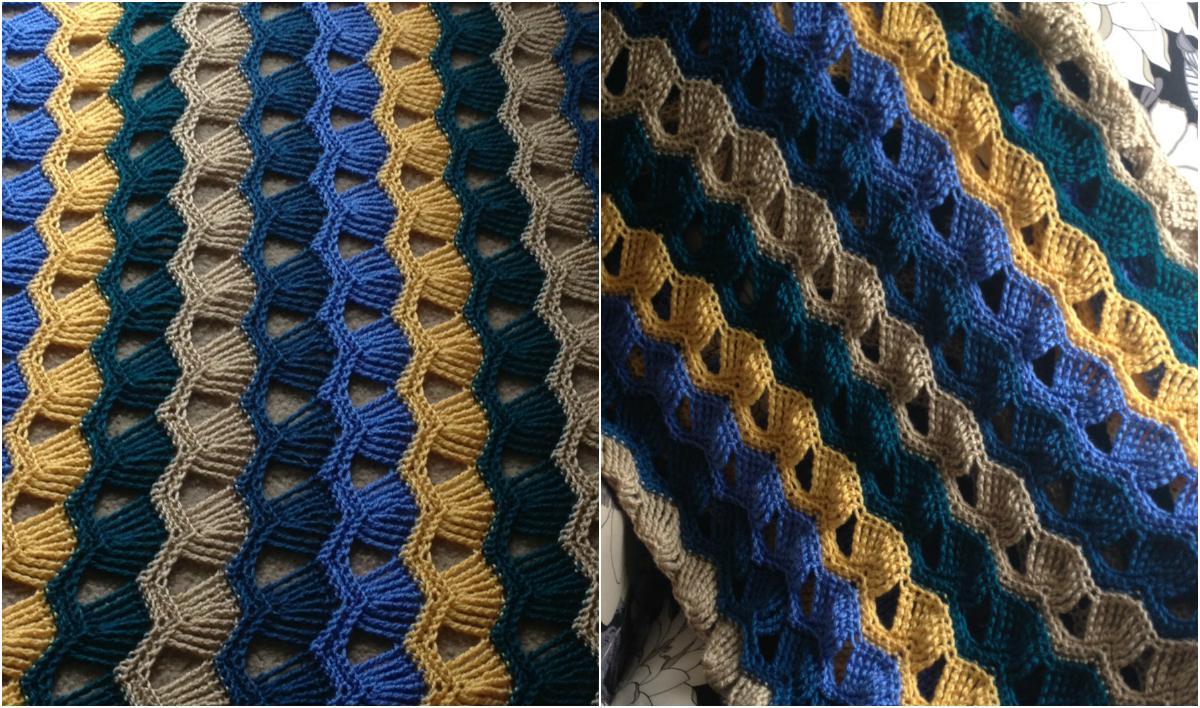Easy] Vintage Fan Ripple Stitch Pattern   Diy Smartly