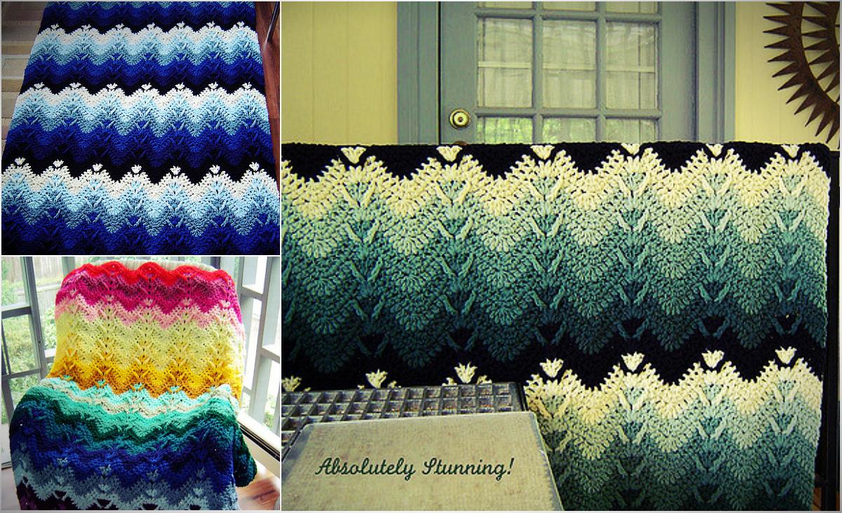 Stunning Mountain Mist Crochet Afghan Free Pattern Diy Smartly