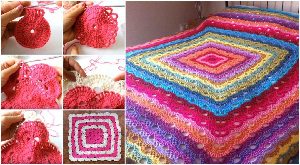 Crochet Pattern Virus Blanket : [Free Pattern] Wonderful Virus Crochet Blanket Diy Smartly