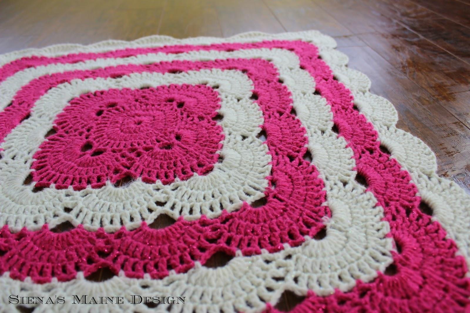 Pattern Video Tutorial Wonderful Virus Crochet Blanket