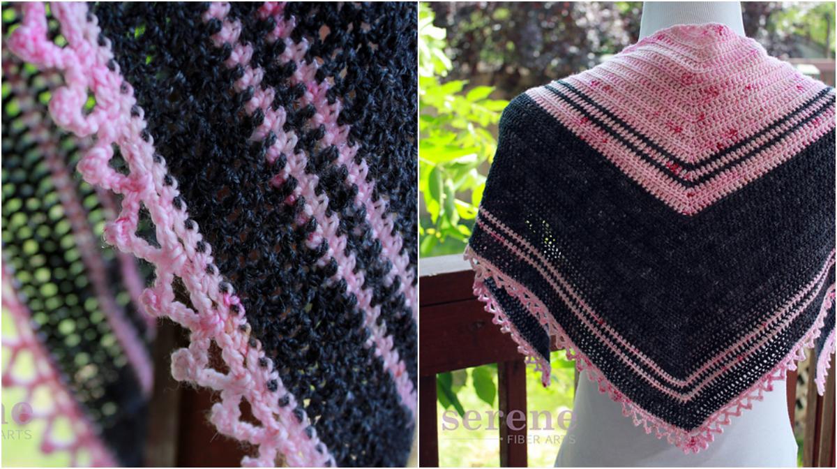Lotus Shawlette Crochet Wrap - Free Pattern | Diy Smartly