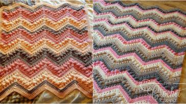 Vibrant Vintage Blanket Border Free Pattern Diy Smartly