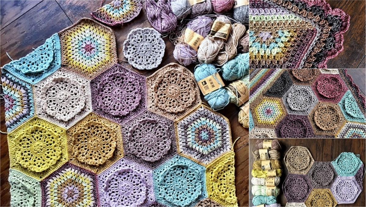 Free Pattern] Adorable Dutch Rose Blanket | Diy Smartly
